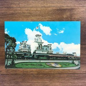 Vintage Wall Art - Vintage Walt Disney World FL Souvenir Postcard